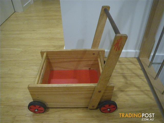 SOLID BABY WALKER WAGON STRONG WALKER WAGON BABY TODDLER WAGON