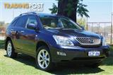 2007 LEXUS RX350 SPORTS LUXURY GSU35R WAGON