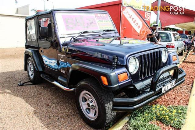 1997 jeep wrangler sport 4x4 tj 2d softtop for sale in minchinbury nsw 1997 jeep wrangler. Black Bedroom Furniture Sets. Home Design Ideas
