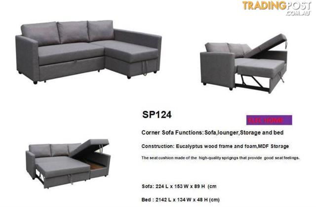 Brand-New-Grey-Fabric-L-Shape-Storage-Sofa-Bed-Couch-Loung-SP124