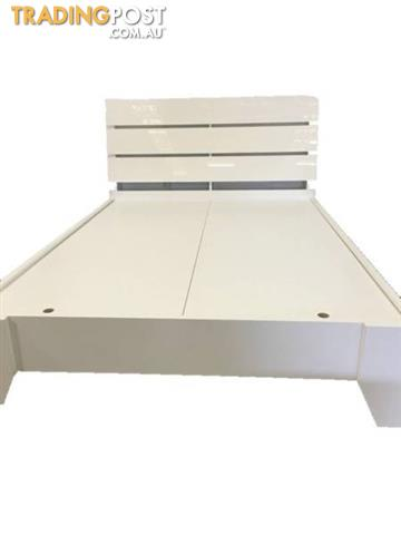 Brand New Double Queen King Size Bed With Strong Flat Base