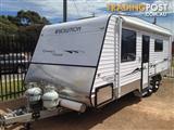 Caravan 21ftt-- Evolution custom built.