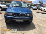 2001 BMW X5 4.4I SPORT AUTOMATIC  WAGON