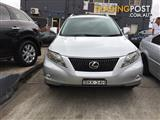 2009 LEXUS RX350 SPORTS LUXURY  WAGON