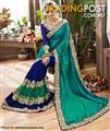Indian Silk Georgette Saree #KAL 057 / Sari / Salwar Kameez / Bollywood dresses