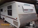 Empress Jewel 2002 full height caravan