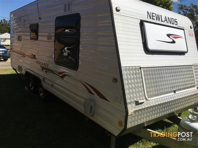 2010 (December) Newlands limited edition caravan
