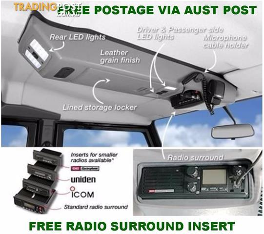 Outback Accessories Roof Consoles 4x4 Toyota Landcruiser
