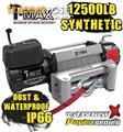 NEW TMAX 12500LB POWER SERIES 12V WINCH TMAHEW12500PR T-MAX ROPE WATER PROOF