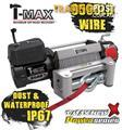 NEW TMAX 9500LB POWER SERIES 12V WINCH TMAHEW9500  WIRE WATER PROOF 4X4 TUFF