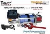 NEW TMAX 10000LB OFF ROAD 12V WINCH TMAEW10000PR ROPE CABLE EASY INSTALL READY