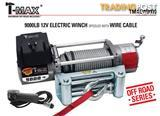 NEW TMAX 9000LB OFF ROAD 12V WINCH TMAEW9000 WITH WIRE CABLE EASY INSTALL READY