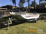 White 3.95m 2004 Brooker Runabout