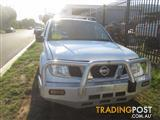 NISSAN NAVARA D40 MNT THAI 2012 WRECKING ALL PARTS