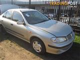 NISSAN PULSAR N16 SEDAN 2001 WRECKING