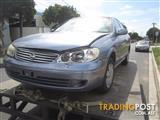NISSAN PULSAR N16 SEDAN 1.8 2003 WRECKING