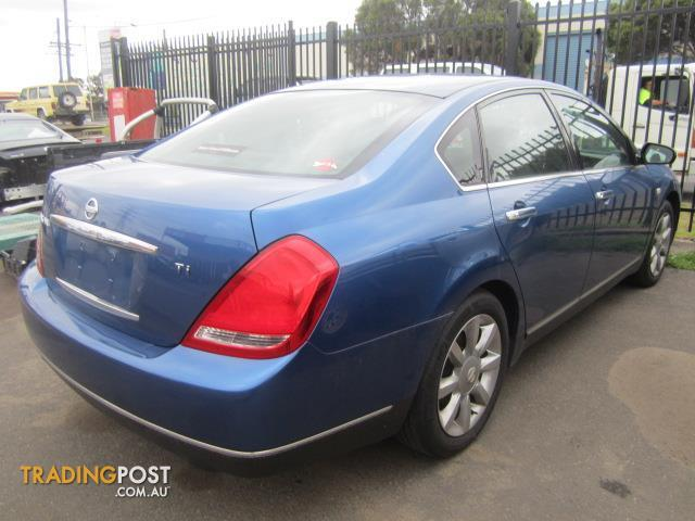 Wrecking Nissan Maxima J31 Sedan 2005 For Sale In