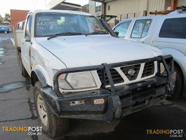 nissan patrol gu ute td42 wrecking all parts for sale in brooklyn vic nissan patrol gu ute. Black Bedroom Furniture Sets. Home Design Ideas