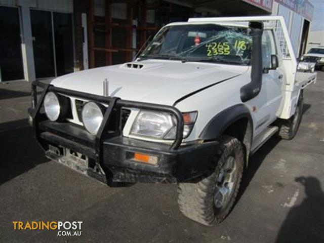 Nissan Patrol Gu Ute 2003 4 2 Td Wrecking All Parts For