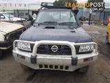 Nissan Patrol GU Y61 Wagon ZD30 Turbo Diesel 2001 Wrecking