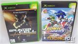 Original Xbox Games Sonic Riders Splinter Cell Pandora Tomorrow