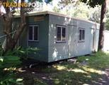 Used Relocatable Site Office & 2 Toilets