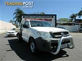 2009 Toyota Hilux Workmate TGN16R MY10 Cab Chassis