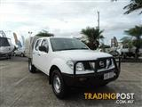 2011 Nissan Navara RX D40 MY11 Cab Chassis