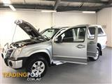 2008 HOLDEN RODEO LT 4X4 RA MY08 CREW CAB PUP