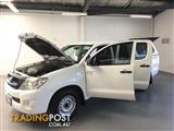 2009 TOYOTA HILUX SR GGN15R 09 UPGRADE DUAL CAB PUP
