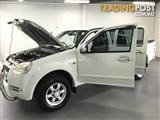 2009 GREAT WALL V240 4X2 K2 DUAL CAB UTILITY