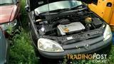 holden barine xc sxi hatch 2004 auto black 1.4L engine all parts wrecking