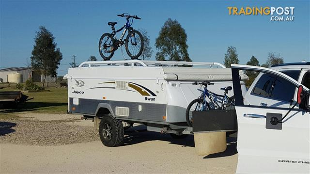Roof Rack W Bike Carriers To Suit Jayco Campervan For
