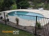 Pool & Garden Fencing Flat Top 2.4 x 1.2 High