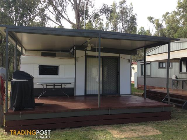 Onsite annual holiday caravan with aluminum annex echuca for sale in onsite annual holiday caravan with aluminum annex echuca solutioingenieria Images