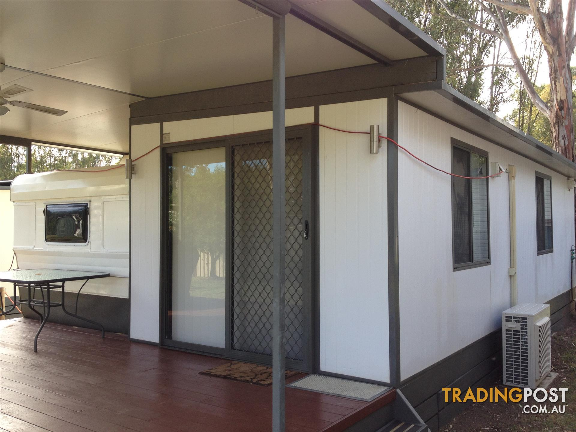 Onsite annual holiday caravan with aluminum annex echuca for sale in send message solutioingenieria Images