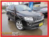 2012  Jeep Compass Limited MK MY12 5D Wagon