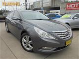 2012  Hyundai i45 Elite YF MY11 4D Sedan