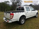 2010 GREAT WALL V240 (4x2) K2 DUAL CAB UTILITY