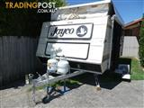 "POPTOP Jayco 90 series  17'6"" Full Size Double Bed 1990"