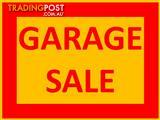 PASCOE VALE GARAGE SALE - 25th November