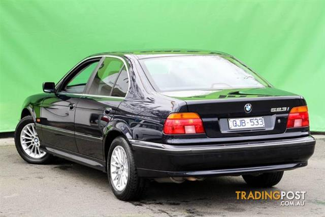 2000 bmw 523i e39 sedan for sale in ringwood vic 2000. Black Bedroom Furniture Sets. Home Design Ideas