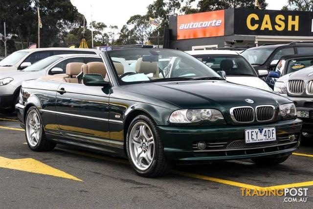 2000 bmw 330ci e46 convertible for sale in ringwood vic 2000 bmw 330ci e46 convertible. Black Bedroom Furniture Sets. Home Design Ideas