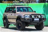 1999  Nissan Patrol ST GU Wagon