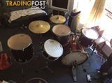 Aston drum set good condition 1 skin needs replacing