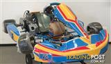 Go Kart 2014 FA Victory 30mm Chassis with X30 Engine Kit