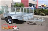 8x5 Box Trailer & Tipper | 600mm Cage | Galvanised | VIN Number | 1 Year Warranty