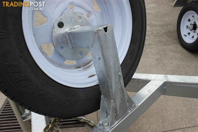 Trailer Spare Wheel Bracket For 6x4 And 8x5 Models