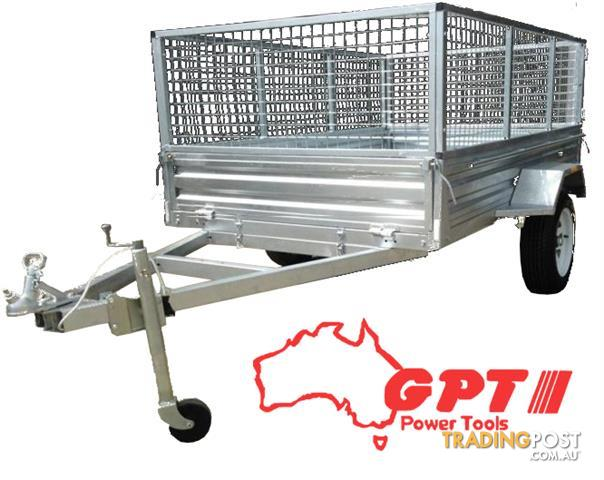 6x4-Box-Trailer-Tipper-900mm-Cage-Galvanised-VIN-Number-1