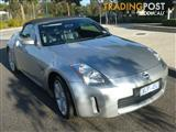 2006 NISSAN 350Z ROADSTER TRACK Z33 MY06 UPGRADE 2D CONVERTIBLE